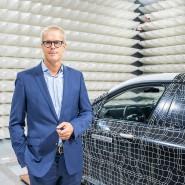 Ein Mann von Morgen: BMW-Manager Frank Weber vor einem Prototypen