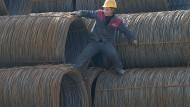 Chinas Stahl-Überkapazitäten sind sogar noch gestiegen