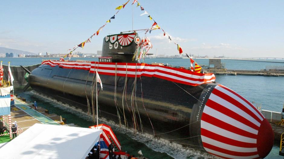 Das Soryu-U-Boot gibt's auch bestimmt mit australischen Farben.