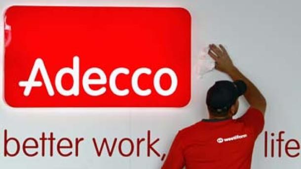 Adecco-Aktie hat Erholungschancen