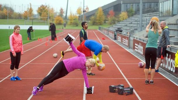 Adidas zeigt seine Sporteinrichtungen