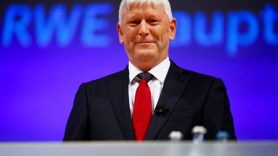 RWE-Chef Rolf Martin Schmitz