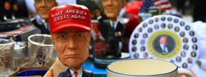 Das Merchandising zu den Feierlichkeiten der Vereidigung von Donald Trump kennt keine Grenzen.