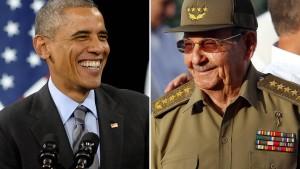 Amerika nähert sich weiter an Kuba an