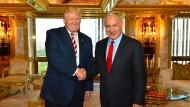 Netanjahu besucht Trump