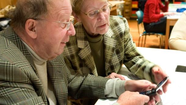 Senioren-Workshop - Anleitung zum Umgang mit dem Mobiltelefon für Personen ab 50.
