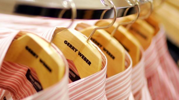 Filialausbau bringt Aktien von Gerry Weber nach vorn