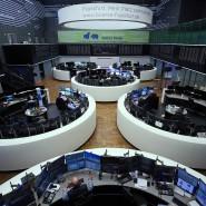 Keine Besucher mehr: Börsensaal in Frankfurt