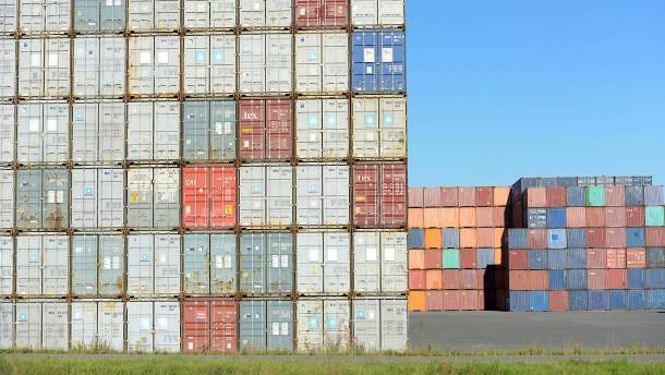 Milliardengrab Frachtcontainer
