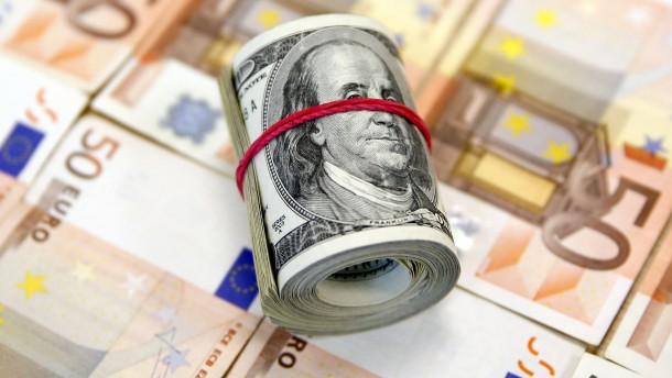 Der Euro im Sturzflug