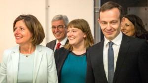 Ampelkoalition in Rheinland-Pfalz stellt Koalitionsvertrag vor