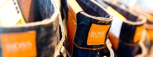 Hugo-Boss-Aktien sind bei den Anlegern am Freitag begehrt.