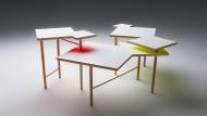 Der Utsuri Table verspricht sich den Platzverhältnissen anzupassen.