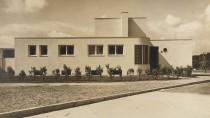 Inbegriff der Moderne: Das elegante weiße Einfamilienhaus schuf Heinrich Lauterbach für die Modellsiedlung in Breslau.