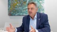 Neil Dwane, Chefanlagestratege der Fondsgesellschaft Allianz Global Investors in Frankfurt.