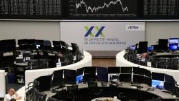 Anleger enttäuscht über Streit in der EU