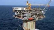 Ölplattform im Golf von Mexiko, Nordamerika