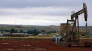 Ölproduktion in Alexander, North Dakota