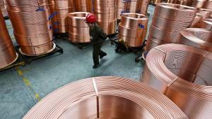 Kupferpreis auf höchstem Stand seit 2014