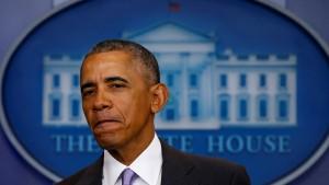 Barack Obama sagt Servus