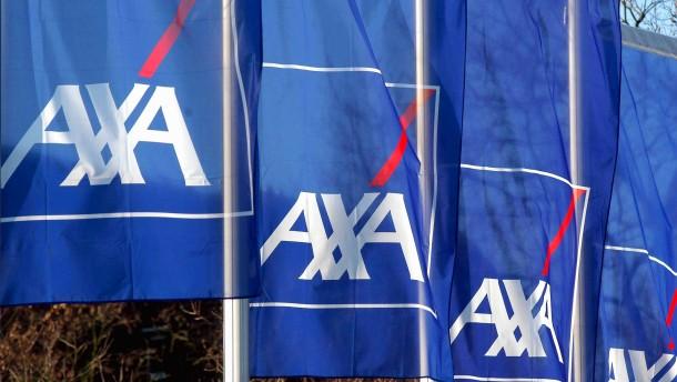 Axa mit mehr Umsatz ins Jahr gestartet
