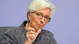Lagarde beflügelt den Dax nur kurz