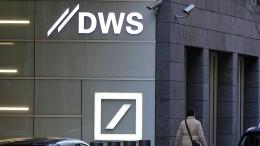 DWS blickt vorsichtiger in das zweite Halbjahr