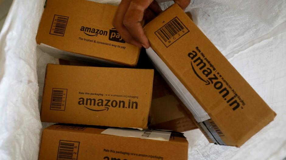 Und einmal mehr fragt man sich: Was steckt drin im Amazon-Paket?