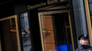Fed sorgt sich wegen Bad Bank der Deutschen Bank
