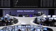 Deutsche Aktien wenig verändert
