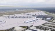 Baubeginn am Terminal 3 des Frankfurter Flughafens