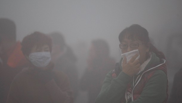 China setzt Drohnen gegen die Luftverschmutzung ein