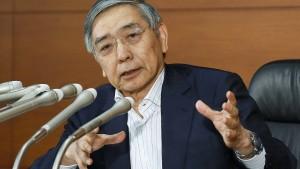 Die Bank von Japan schrumpft ihr Portfolio