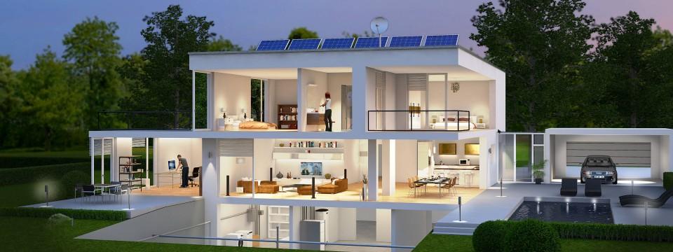 Das smarte Haus kommt erst Jahre später