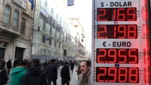 Investoren flüchten aus der Türkei