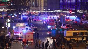 Berliner Polizei vermutet Terroranschlag auf Weihnachtsmarkt