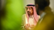 Khalid Al-Falih, Energie-Minister Saudi-Arabiens, auf der 173. Opec-Konferenz in Wien