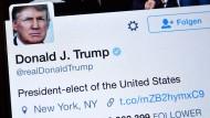 Noch nicht einmal Trump hilft Twitter