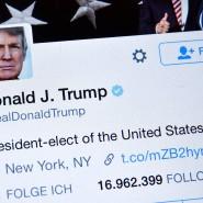 Donald Trump: Einer der eifrigsten Twitter-Nutzer.