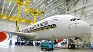 Ab in die Mottenkiste: So mancher A380 fliegt nicht mehr.