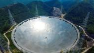 Mit dem weltgrößten Teleskop sucht China nach Leben im Weltraum