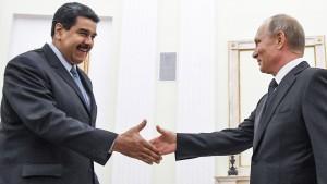 Russland und China helfen Venezuela in Schuldenkrise
