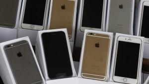 Die iPhone-Schmuggler leiden