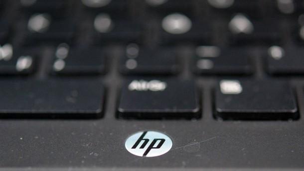 Hewlett-Packard mit Zahlen