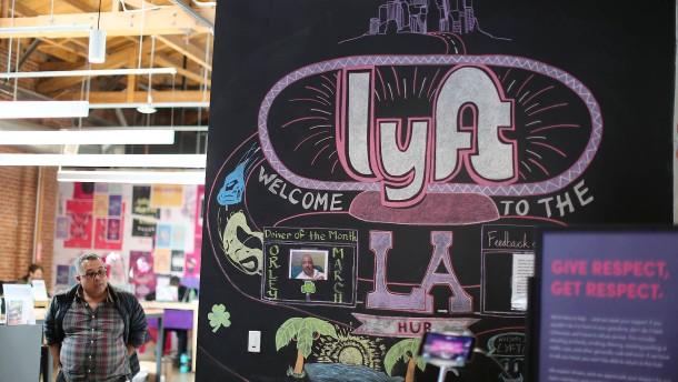 Erwartungen an Lyft-Börsengang sind hoch