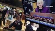 An den Aktienmärkten wird beoabachtet was sie macht: Fed-Präsidentin Janet Yellen.