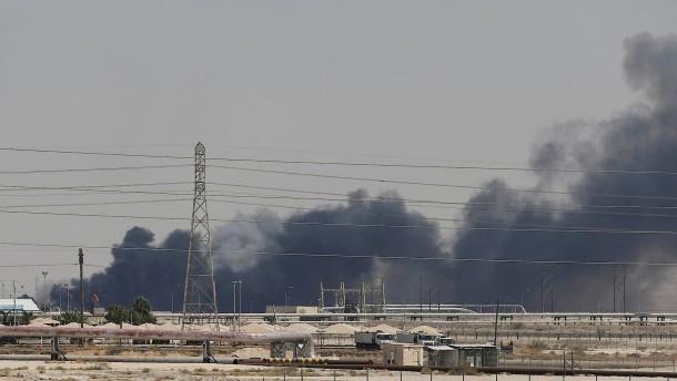 Schock an Ölmärkten nach Drohnenangriff lässt nach