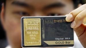 Goldpreis steigt auf Elf-Monats-Hoch