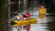 Überschwemmungen in Bangkok (Thailand) 2011
