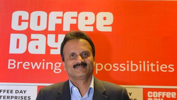 Verschwundener indischer Kaffee-König tot aufgefunden